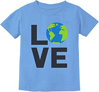 Love Save The Planet Earth Day Environment Toddler Kids T-Shirt