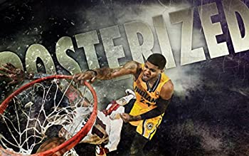 FantasticDecoration Paul George Slam Dunk Indiana Pacers Basketball Poster Art Print 38 x24  B