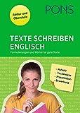 PONS Texte schreiben- Englisch: Aufsatz, Textanalyse, Präsentation, Briefe und Bewerbungen