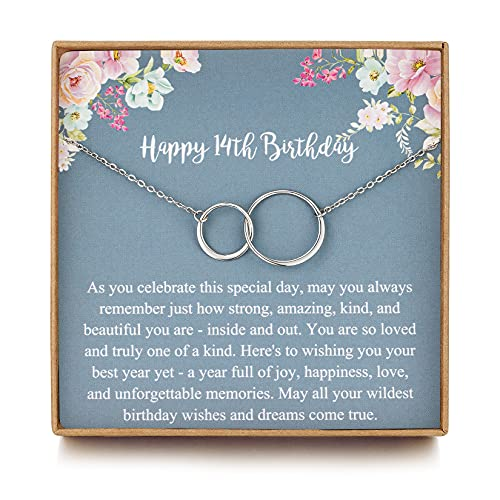 MUSIER PARIS Sweet 14th Birthday Gifts for Girls, Birthday Gifts for her,...