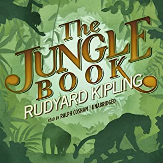 The Jungle Book I & II audiobook cover art