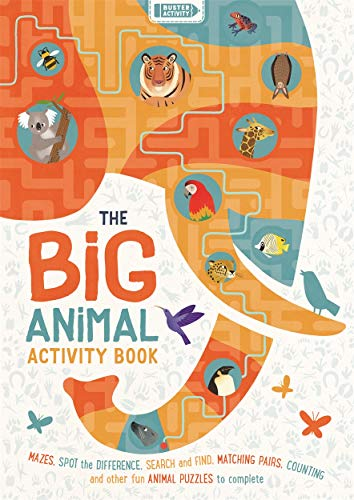 Evans, F: Big Animal Activity Book