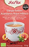 Yogi Tea Infusión de Hierbas Energía Positiva - 17 bolsitas - [pack de 3]