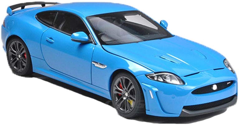 GAOQUN-TOY Jaguar XKR-S Jaguar Sportwagen-Modell 1 18 Simulation Alloy Model (Farbe   Blau, gre   26cm10cm7.5cm)