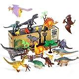 Juego de Dinosaurios, joylink 23PCS Figura de Dinosaurio Educativo Dinosaurios...