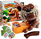 Mad Dog Tricky Toy, Electronic Pet Dog Toys, Funny Parent-Child Games, Bad Dog Board Games for Christmas Birthday Party, Beware of The Dog, Don't Wake The Dog Toys (5.1x7.9x7.1inch)