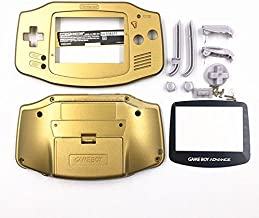 Replacement Housing Shell Case Cover Skin for Nintendo Gameboy Advance GBA Console Color Gold Plastic