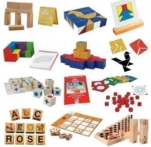 Das Entwicklungspaket - Die 'Aufbauenden Spiele' N1 bis N10 von Boris und Lena Nikitin   für Kinder ab 3 Jahren