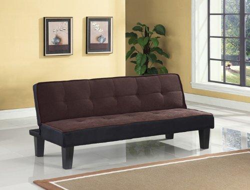 ACME Hamar Adjustable Sofa - 57028 - Chocolate Flannel Fabric