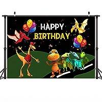 漫画の背景バナー漫画の恐竜のテーマ写真の背景の背景バナー誕生日パーティーの背景カラフルなバルーンバットYoutubeビデオ撮影の背景新生児のポートレート写真の背景