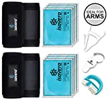 Isavera Arm Fat Freezing System - Arm Fat Freezer and Shaper Wraps for Flabby Arms – Weight Loss...