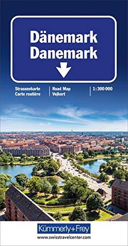 Kümmerly & Frey Karten, Dänemark (Maßstab 1:300.000)