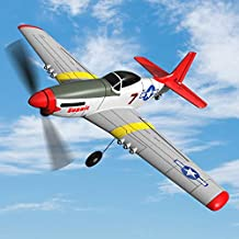 SONIKRC VOLANTEXRC Remote Control Airplane P51D 400mm 4CH 2.4G RC Model Plane Outdoor Toys for Kid Birthday Gift