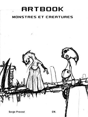 ArtBook Monstres et Créatures: Un univers de monstres !