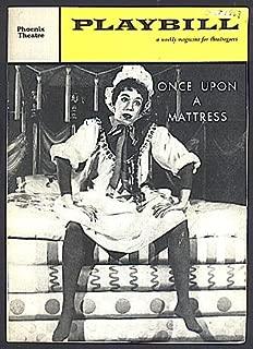 Once Upon a Mattress, Phoenix Theatre (Playbill Vol. 3, No. 43, October, 1959)