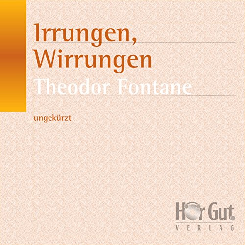 Irrungen, Wirrungen audiobook cover art