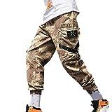 Pantaloni Eleganti da Uomo,Pantaloni Sportivi Lunghi Casual da Uomo Pantaloni A Quadri Slim Fit Pantaloni Sportivi da Jogging Pantaloni Sportivi,Uomo Pantaloni Alta visibilità Riflettente Leggera