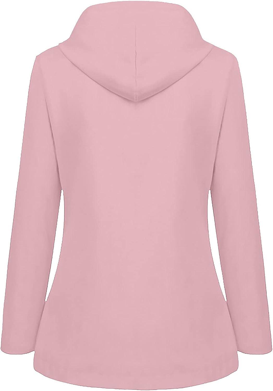 Women's Our shop OFFers the best service Winter Fleece Waterproof Coat Casual Sleeve Solid Popularity C Long