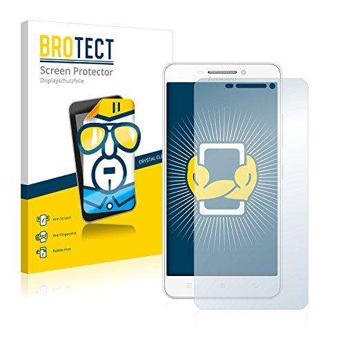 BROTECT Schutzfolie kompatibel mit Lenovo A5000 (2 Stück) klare Bildschirmschutz-Folie