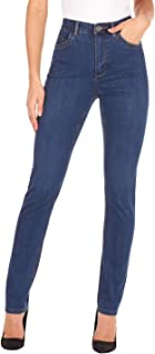 Women's Suzanne Straight Fit Slim Leg Jeans