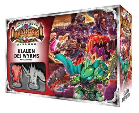 Super Dungeon Explore: • Erweiterung Klauen des Wyrms Deutsche Version