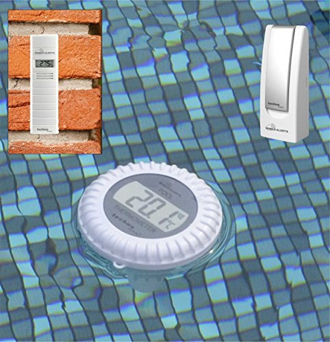 Technoline POOLTHERMOMETER MA 10070 Mobile ALERTS Gateway + POOLSENDER und Thermo HYGRO Sender