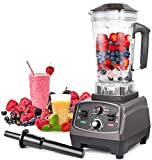 Blender Professional Countertop Blender, 2200W High Speed Smoothie Blender/Mixer for Shakes and...