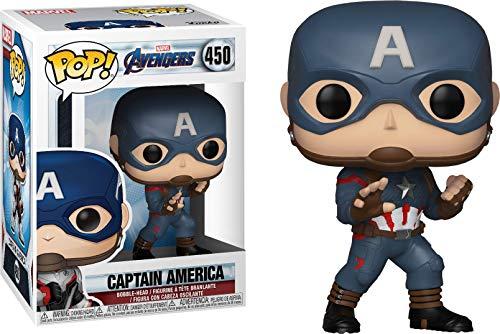 Funko Pop Capitán América – Uniforme Retro (Los Vengadores: Endgame 450) Funko Pop Los Vengadores
