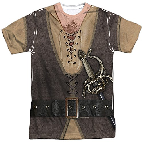 The Princess Bride Montoya Adult Sublimation Costume T-Shirt (Adult Small)