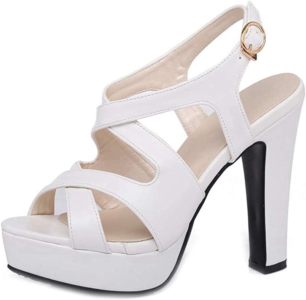 Branded goods Womens Minneapolis Mall Wedge Sandal Block Heeled Ankle San Strap Platform Chunky