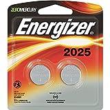 Energizer 2025BP-2 Watch Batteries, 2025, Multi