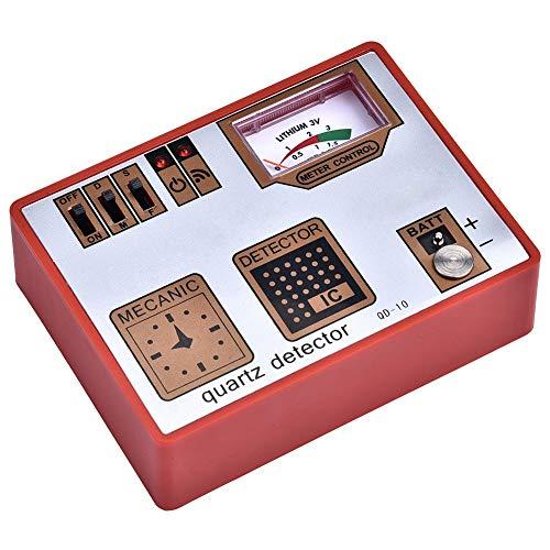 時計歩度測定器時計電池テスター、時計消磁器タイムグラファークォーツ検出器クォーツテスター、Wacth修理時計職人向け