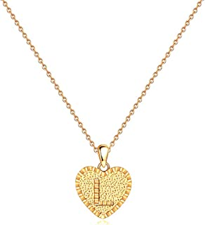 Best dainty gold initial necklace Reviews