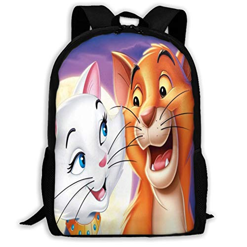 A-Risto-Cats Adult Travel Bapa Fits 15.6 Inch Laptop Bapas School College Bag Casual Rusa for Men & Women