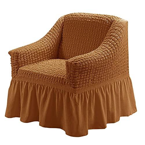 YNYEZBH Sofá Individual 1 Funda de Asiento Funda de sillón pequeño Funda de sofá de Comedor cafetería Restaurante Silla 04