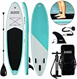 Tabla Paddle Surf Hinchable - Tablas Paddle Surf,Paddle Surf Hinchable Tabla Surf Set,Tabla de Surf de Remo Hinchable para Surf de Remo de 15 cm de Grosor con Remo de Accesorios Completos