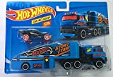 Hot Wheels Mbm HW Trailer with Car Stunt in Semi
