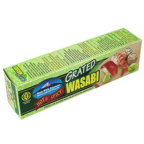 Wasabi Paste in der Tube - Original aus Japan - Perfekt für das Würzen von Sushi, 43g [als 1er, 4er und 10er Packung erhältlich]
