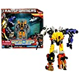 Transformers Hasbro Year 2010 Power Core Combiners Series Robot Action Figure - Decepticon OVER-RUN with 4 Stunticons (Drift Racer Drone, Street Racer Drone, Junker Drone and Rocket Truck Drone)