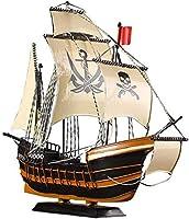 帆船装飾船パーソナルギフトリビングルーム書斎装飾航海テーマ(46 * 15 * 38CM)装飾用
