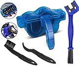 BTkviseQat Fahrrad Kettenreinigungsgerät Fahrradkettenreiniger Reinigung Scrubber Pinsel-Werkzeug im Set fürFahrradketten - Ketten Reinigung Gerät Reiniger Reinigungsgerät