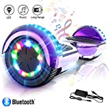COLORWAY Hover Scooter Board 6.5 Zoll Hoverboard - Self Balance Scooter Elektro Scooter- LED &...