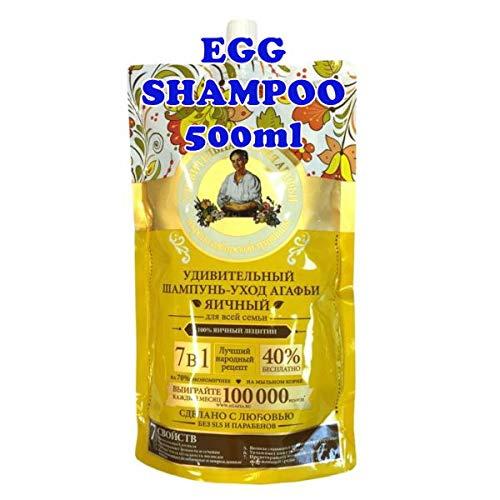 Babushka Agafia EGG SHAMPOO 500ml