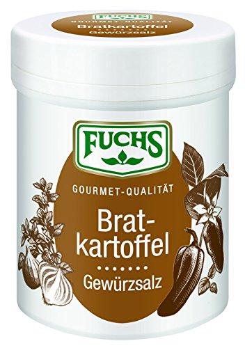 Fuchs Bratkartoffel Gewürzsalz, 3er Pack (3 x 80 g)