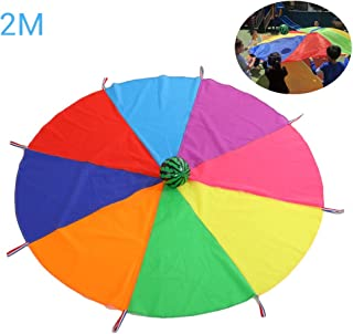 Daxoon Swing Cloth Parachute Toy Parachute Toy Rainbow