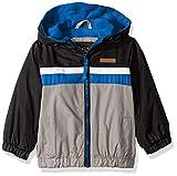 iXtreme Baby Boys Fleece Lined Windbreaker Jacket, Black, 24M