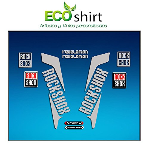 mächtig der welt Öko-Shirt IT-C7OP-K49G Aufkleber Gabel Gabel Rockshox Revelation 2016 Aufkleber Am38 Aufkleber Aufkleber…