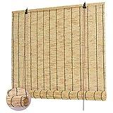 WZRIOP Estores de Bambú,Cortina de Caña, Tejido a Mano, Decoración para Exteriores y Patio,Persiana Estor de bambú para Interiores, para Puertas/Ventanas/Balcones(50x60cm/20x24in)