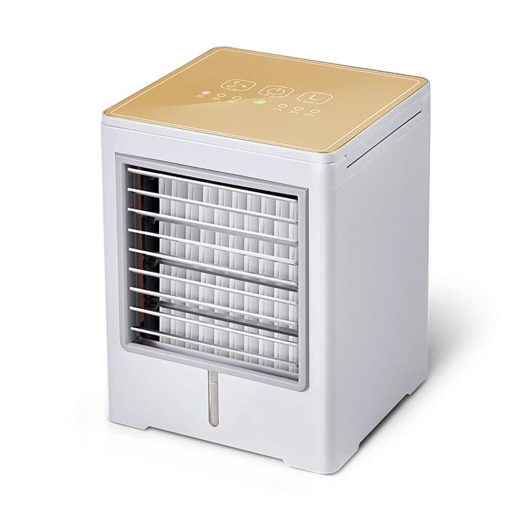 FHDF Aire Acondicionado Móvil Portátil Enfriador Mini Climatizador Evaporativo,Humidificador Purificador de Aire,Silencioso Ventilador de sobremesa,Ventilador de Torre,Tiempo,Hogar Oficina Colegio,6: Amazon.es: Hogar