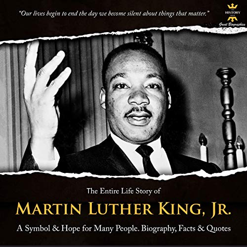 Martin Luther King, Jr. cover art